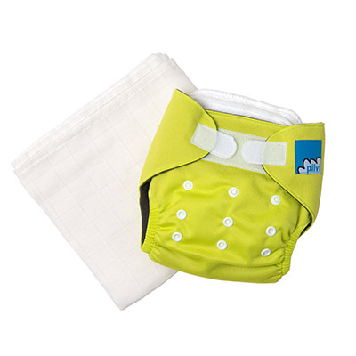 Pocket nappy and cotton gauze inserts