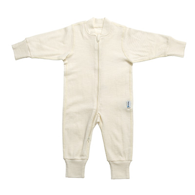 Wool-blend coverall