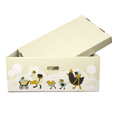 Box (can be used as a crib)